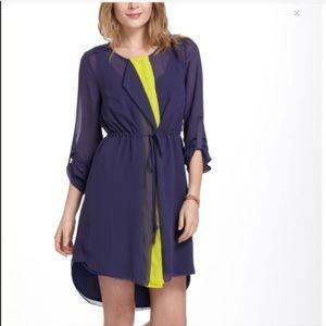Anthropologie Isani Contadora Dress in Purple/Neon